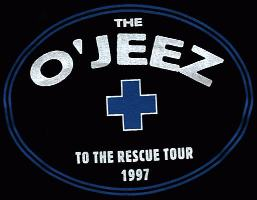 The O'Jeez black t shirt